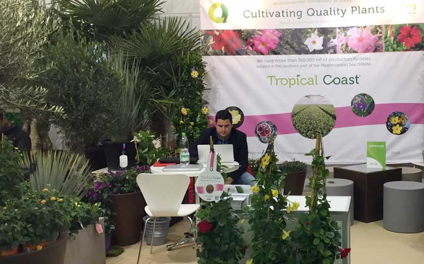 CQPlants exhibits at IPM ESSEN 2016